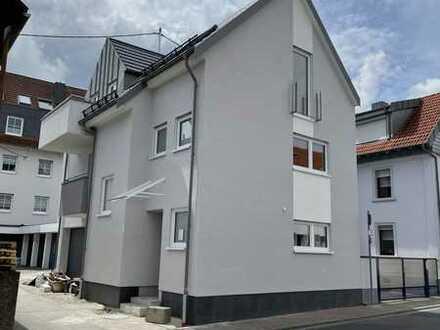 Erstbezug mit Dachterrasse: freundliche 5-Zimmer-Maisonette-Wohnung in Frankfurt/Harheim