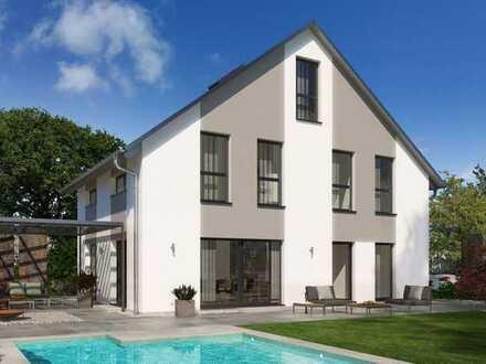 Einfamilienhaus Design 30 HÖCHSTER WOHNKOMFORT AUF DREI ETAGEN mit Grundstück in Kreuztal Krombach