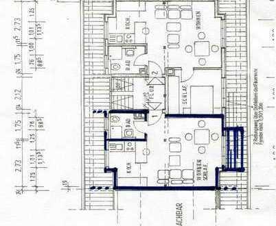 1 Zi-Appartement kompl. möbliert in Mannheim-Sandhofen