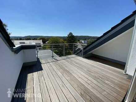 Neuwertige Maisonettewohnung mit ca. 10 m² großer Dachterrasse im Zentrum von Bad Honnef!