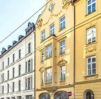 Büro/Atelier/Showroom in traditionsreicher Top Citylage Nähe Rechbergpalais - provisionsfrei -