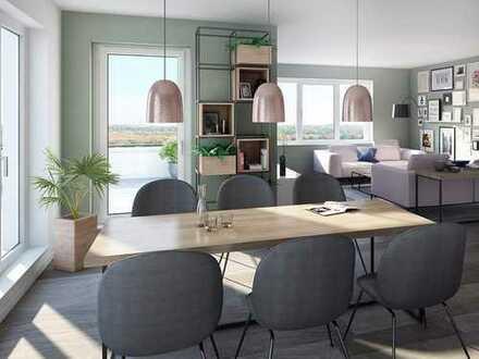 Großzügige 2-Zimmer-Wohnung mit Terrasse - lebensfreundlich direkt am Stadtwald