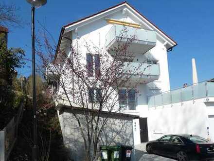 2 Zimmer-Wohnung, möbliert, in bester Lage am Klostersee mit herrlicher Terrasse