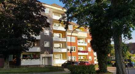 2,5 Zimmer-Wohnung mit Einbauküche und Westbalkon