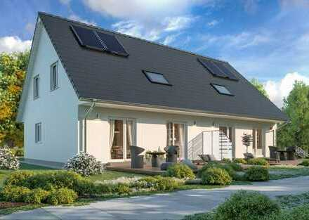 Dauerhaft wohnen u. vermieten! 121 m² Wfl. (KfW70) ScanHaus - Geplant in Zweedorf -inkl. Grundstück.