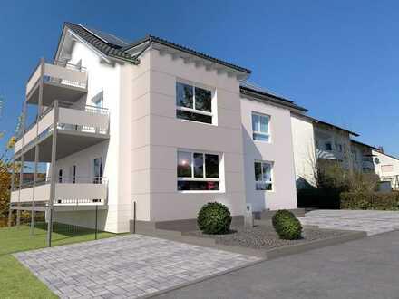 Wohnung im ersten Obergeschoss im Effizienzhaus 100 mit KFW Förderung in zentraler Lage von Buchen