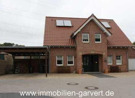 Landhausflair! Neuwertiges Einfamilienhaus mit Garten und Garage in ruhigem Wohngebiet in Velen