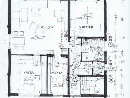 3-Zimmer/Küche/Bad/Gäste-WC-Wohnung mit Balkon in Bodenheim Fotos folgen