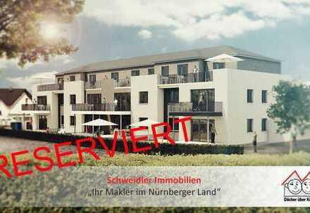 PENTHAUS-Wohntraum!! Schicke 2-Zimmer-Wohnung mit Dachterrasse in Henfenfeld