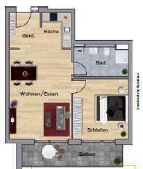 Hochwertige, helle Wohnung in zentraler Lage in Stuttgart