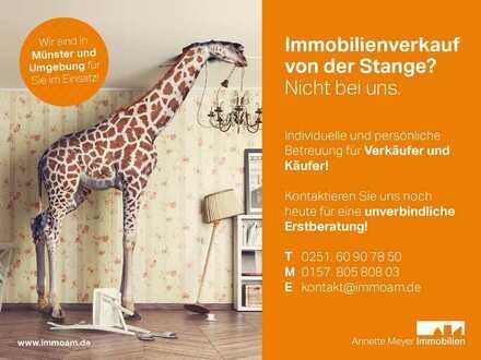 Mach's dir doch gemütlich... Moderne Maisonette-Wohnung mit Loggia und Gartenanteil