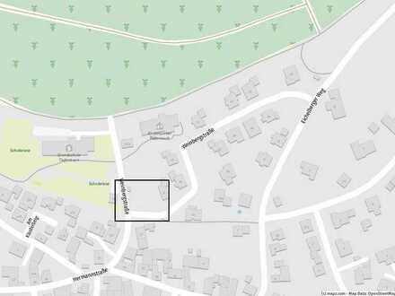 Bauplatz für Doppelhaus oder Einfamilienhaus in Ortsrandlage