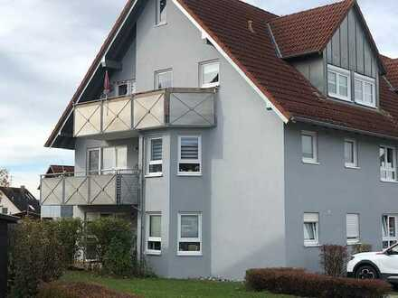 Sofort beziehbare 1-Zimmer-Wohnung mit Balkon und Stellplatz in CR-Jagstheim