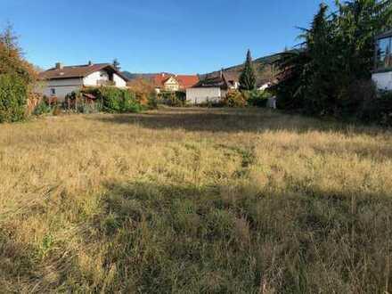 Sonnenverwöhntes, zentrumnahes, ruhig gelegenes Grundstück in Bühl