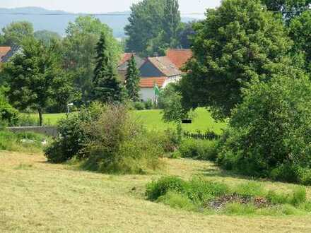 Schönes, großes Baugrundstück in Ortsrandlage, ideal auch für Tierhalter (auch teilbar ab 800 m²)