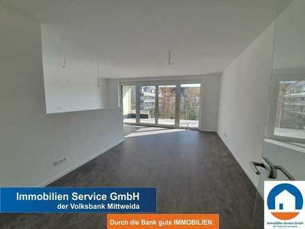 Moderne 4-Raum-Wohnung mit Balkon im 3.OG -Neubau-Erstbezug-Tiefgarage-Fahrstuhl-