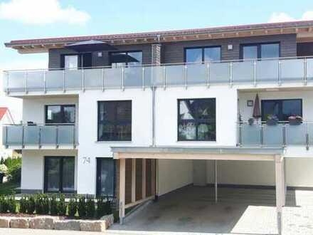 Neuwertige 3,5-Zimmer-Wohnung mit Balkon und EBK in Balingen