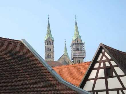 Großzügige 4-Zimmer-Mietwohnung im Einzeldenkmal in der Altstadt Bambergs!
