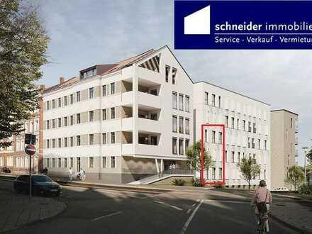 Terrasse und eig. Gartenanteil_schwellenlos_Erstbezug_Sanierungs-AfA, Hochparterre zur Straßenseite
