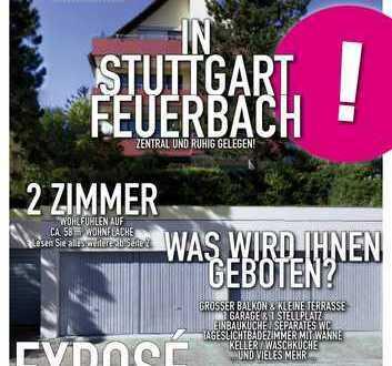 2 Zimmer in Stuttgart-Feuerbach