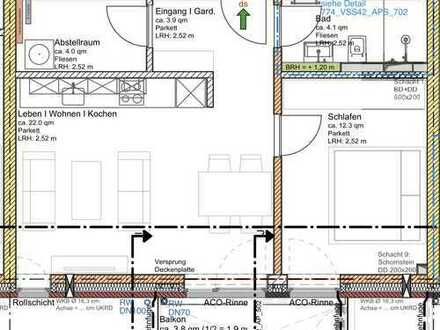 Exklusive 2 Zimmer Neubau Wohnung in HH-Bahrenfeld zu Verkaufen