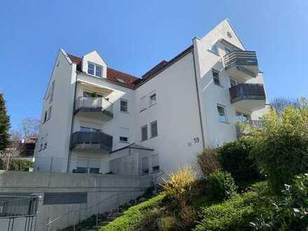 Charmante, gepflegte, 3-Zimmer DG-Wohnung mit TG-Stellplatz in Bad Waldsee!!