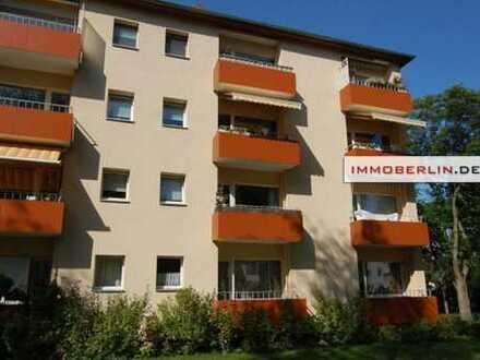 IMMOBERLIN: Sonnige Wohnung mit Balkonloggia in Südlage