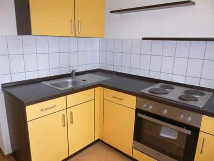1-Raum Wohnung mit Einbauküche