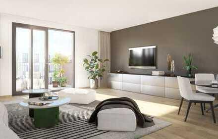 PANDION 9 FREUNDE - 3-Zimmer-Wohnung mit Balkon und 2 Bädern