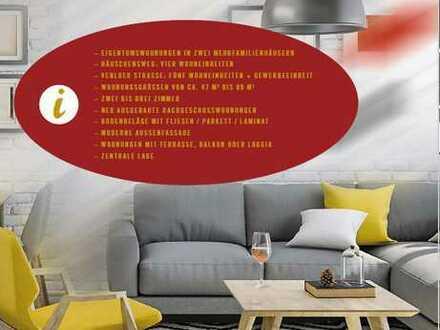 Natürlich Köln- 3-Zimmer-Wohnung als KAPITALANLAGE zu verkaufen! WE 1