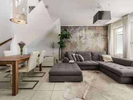 Stilvolles Ambiente mit uneinsehbarer Dachterrasse 4-Zi. ETW