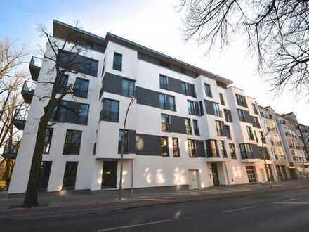 Moderne 3-Zimmerwohnung im ruhigen Hinternhaus mit eigenem Balkon, 2 Bädern und Parkettboden in Kö