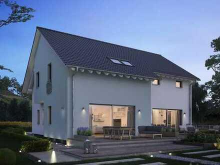 Doppelhaushälfte - so geht günstig Wohnen! Und dazu viel Platz!