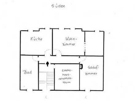 Ansprechende, sanierte 2,5-Zimmer-DG-Wohnung in Erfurt