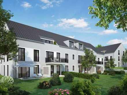 Exklusive 3-Zimmer-Dachgeschosswohnung mit Balkon in Erding/Pretzenzen