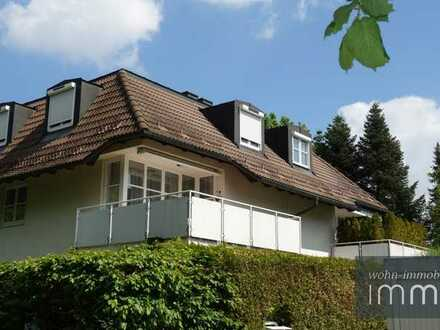 Moderne Maisonette in sensationeller Lage am Naturschutzgebiet Waldtrudering!