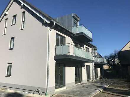 Erstbezug: stilvolle 4-Zimmer-Wohnung mit Einbauküche und Balkon in Bayreuth - Bindlach
