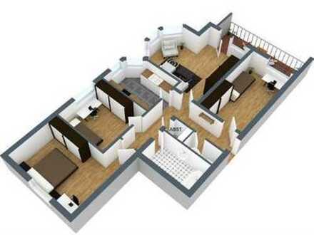 """Wohnen """"am Balkon des Erzgebirge"""" - 4-Zimmer-Wohnung"""