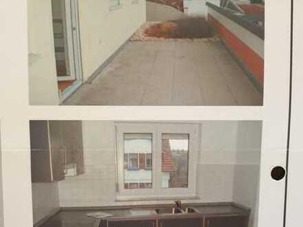 1,5-Zimmer-Wohnung mit großer Terrasse und EBK in Aichtal-Grötzingen