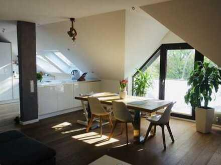 Exklusive, modernisierte 4-Zimmer-DG-Wohnung *provisionsfrei*