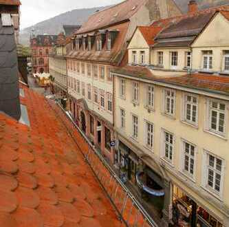 Helle möblierte 5,5-Zi. Maisonettwohnung inmitten der Heidelberger Altstadt mit Dachterrasse