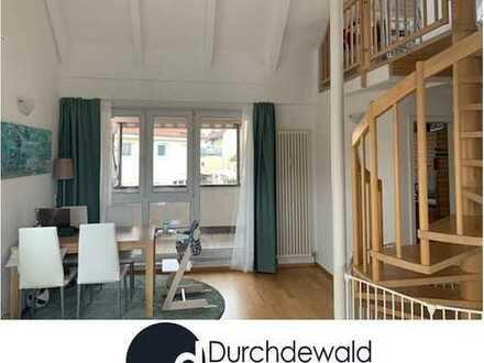 Schöne 3,5 Zimmer Dachgeschoß-Maisonette-Wohnung mit Galerie in Stuttgart-Birkach