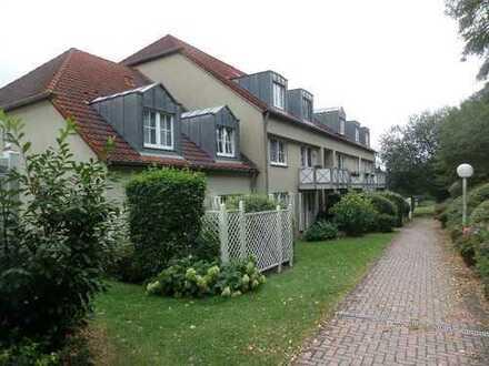ruhig gelegene 1-Zimmer-Dachgeschoß-Wohnung