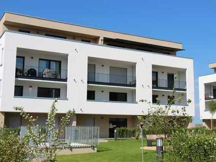 Erstbezug: exklusive 3-Zimmer-Penthouse-Wohnung mit großer Dachterrasse in Rosbach vor der Höhe