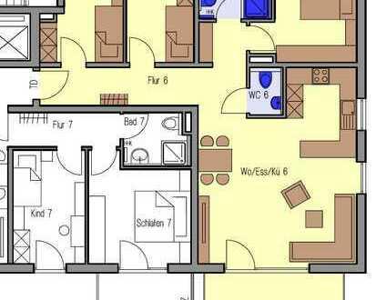 Erstbezug mit Einbauküche und Terrasse: stilvolle 4-Zimmer-Wohnung in Urbach