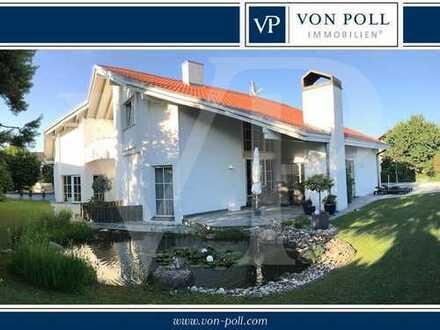 Villa in Toplage Kösching Eixelberg - mit ELW und Pool