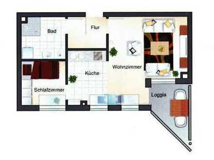 Betreutes Wohnen für Senioren - 1,5 Zimmer-DG-Wohnung mit EBK + Balkon in MA-Seckenheim