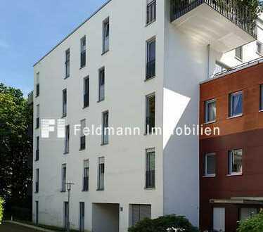 Bezugsfrei! Moderne, großzügige 2-Zimmer-Wohnung mit kleiner Süd-Terrasse.