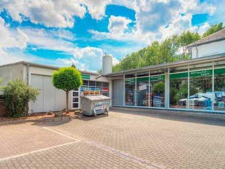 Erstklassige Halle für Lager, Werkstatt, Montage etc. in bestens frequentierter Geschäftslage!