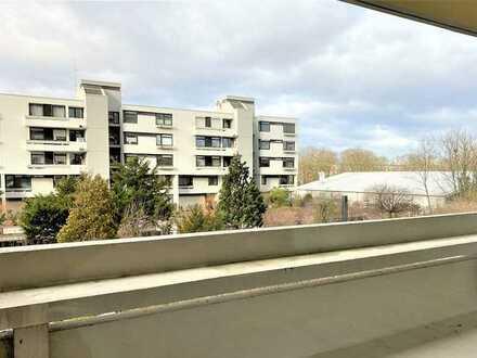 Helle 1-Zimmer-Stadt-Wohnung mit großem Balkon in KA-Rüppurr